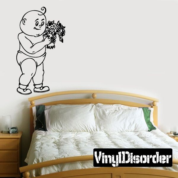 Baby Wall Decal - Vinyl Decal - Car Decal - DC 8100