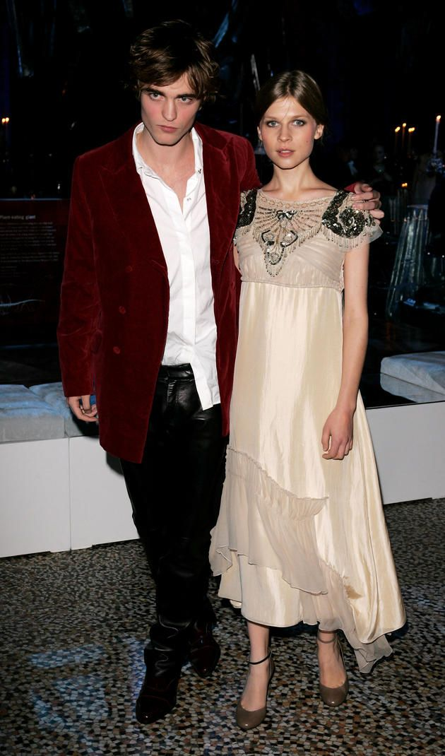Clemence Poesy With Rob Pattinson For Harry Potter 4 Harry Potter Asthetik Schauspieler