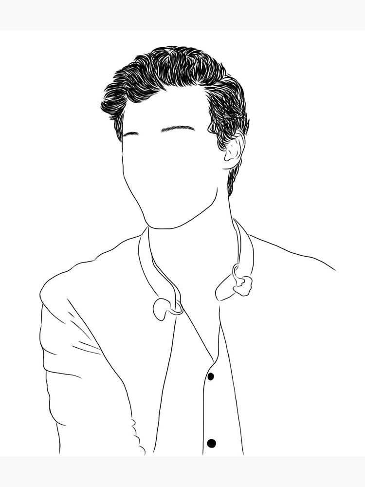 Shawn Mendes Outline N 1 Photographic Print By Shawnmendesfr Shawn Mendes Tattoos Shawn Mendes Shawn