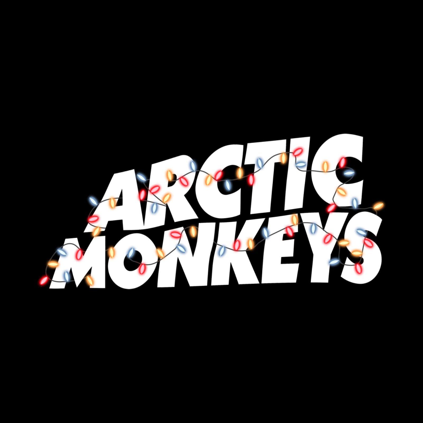 Arctic Monkeys Logo Xmas Tee In 2021 Monkey Logo Arctic Monkeys Arctic Monkeys Logo