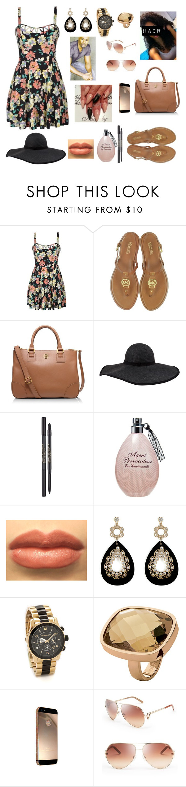 """""""Sunday Is My Favorite Sunny Day ;D #GoingToChurchWithUncMomo #GoodVibes #HaveANiceDay"""" by cissylion ❤ liked on Polyvore featuring мода, Michael Kors, Tory Burch, Frette, Lancôme, Agent Provocateur, Oasis, Folli Follie и Chloé"""