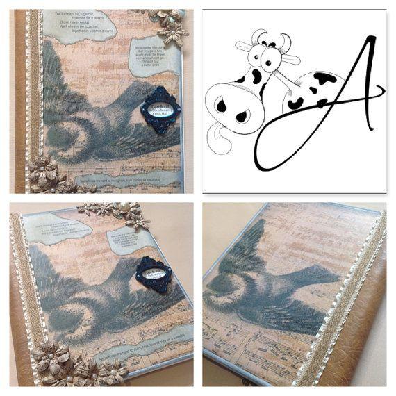 Wedding Planner Ring Binder Folder By ArtyCowDesigns