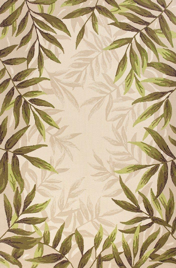 Nature S Greenery Palm Area Rug