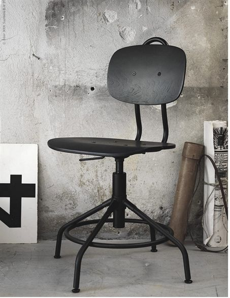 New Industrial Vintage-Style Office Chair at IKEA | Poppytalk #OfficeChair