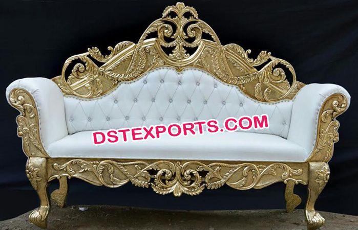 #Designer #Royal #Carved #Wedding #Couch #Dstexports