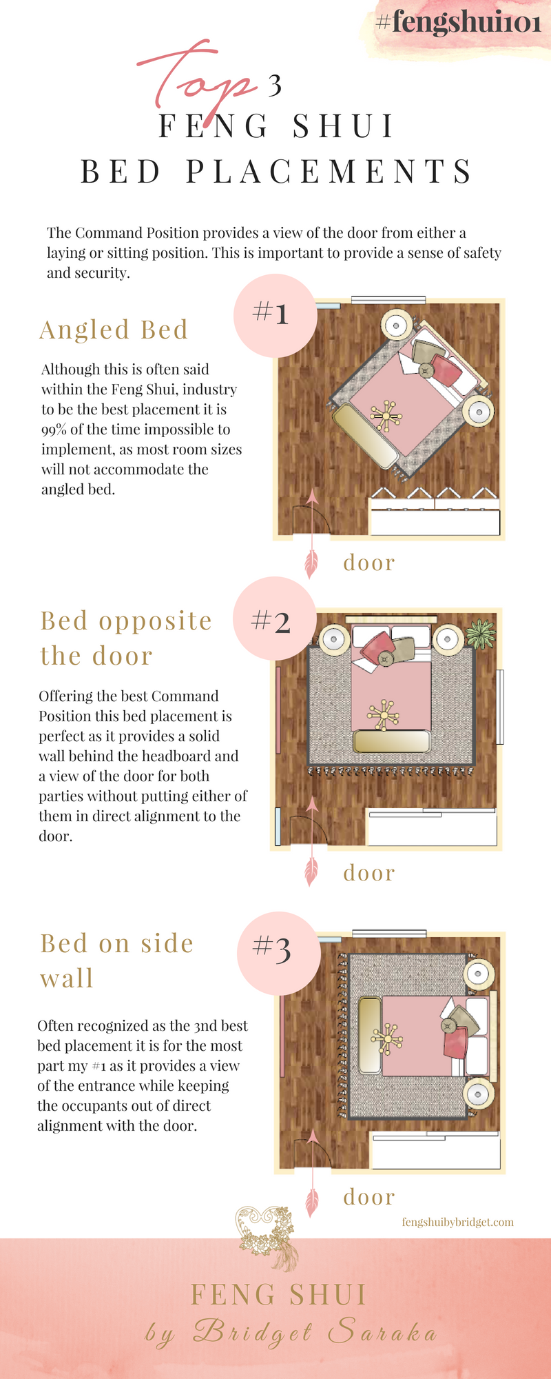 Top 3 Best Feng Shui Bed Placements fengshui101 Feng