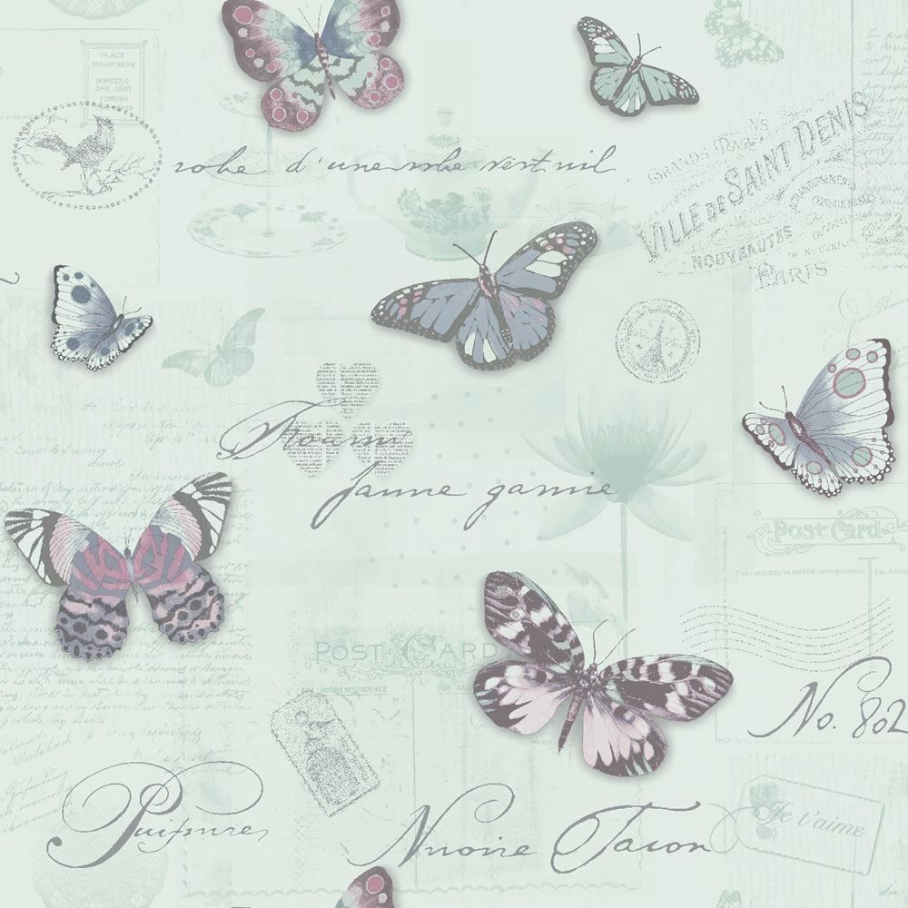 Duck Egg Blue Bathroom Accessories Duck Egg Heather Silver 11372 Butterfly Collage
