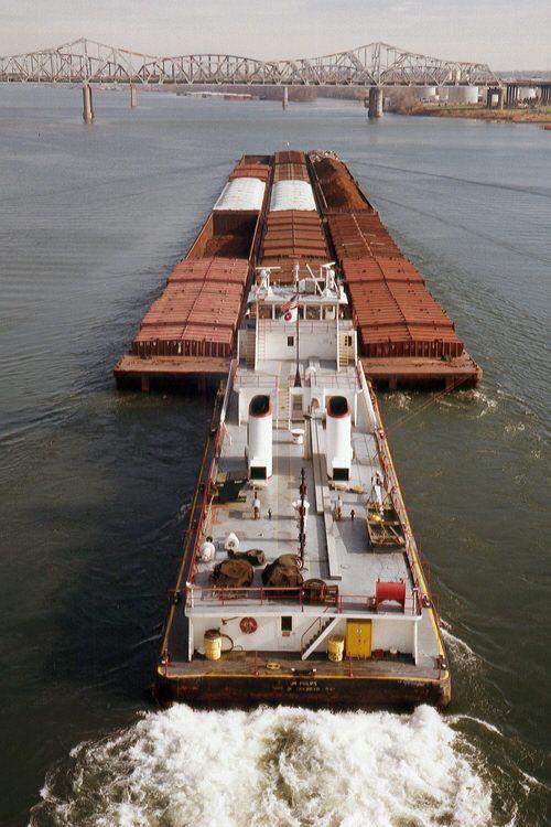 Towboat JN Phillps Midland/Ohio River Company now Ingram