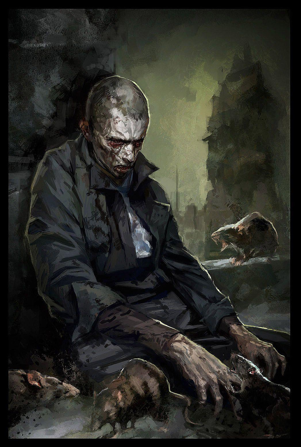 Dishonored Sokolov Paintings Character Art Dishonored Art