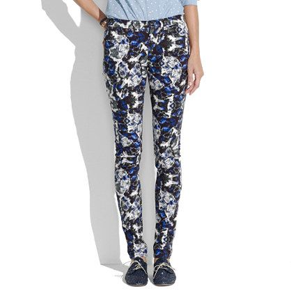 Skinny Skinny Jeans in Brushstroke #mixwellmadewell     - these are an awesome pair of jeans  -