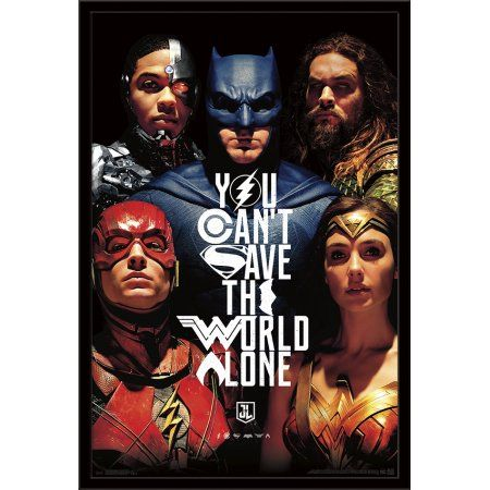 Photo of Justice League – Save The World – Walmart.com
