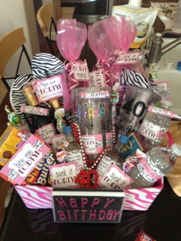 40th birthday gift ideas pinterest just bCAUSE 40th