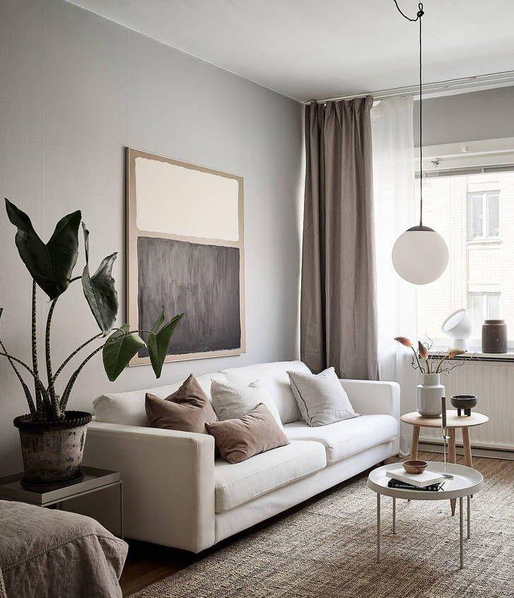 Minimal studio home - COCO LAPINE DESIGN
