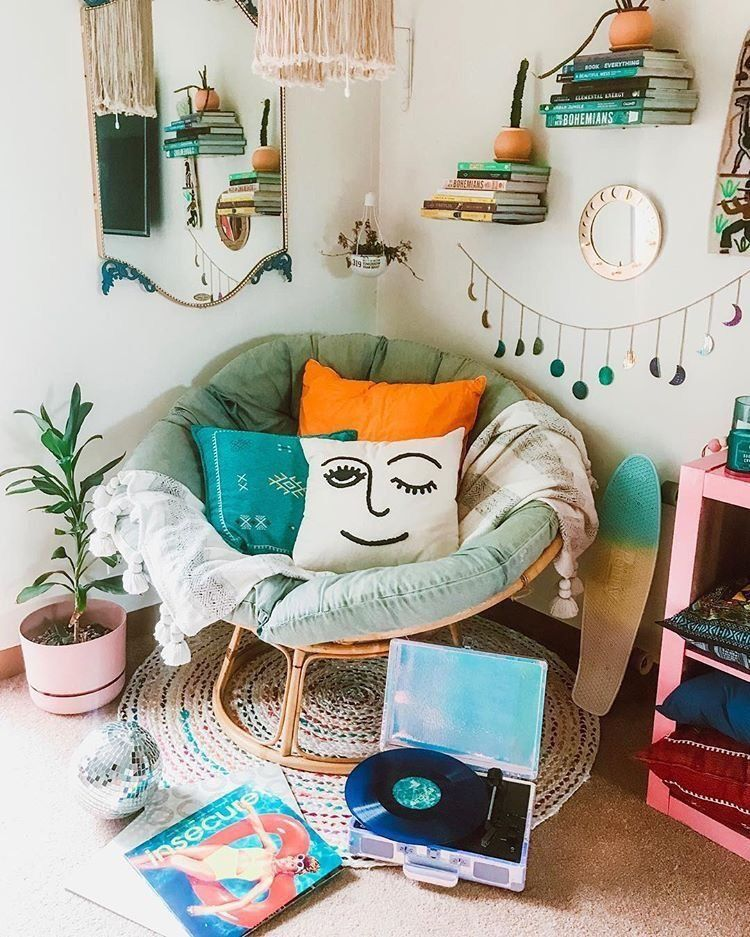 Winky Embroidered Pillow #cozybedroom
