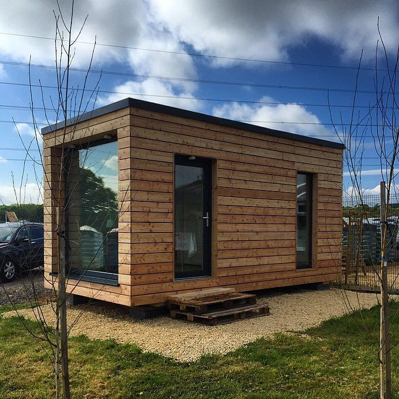 Micro House By Ecodom #tinyhouse #architecture #home #micro #nature #tinyhomes #architect #house