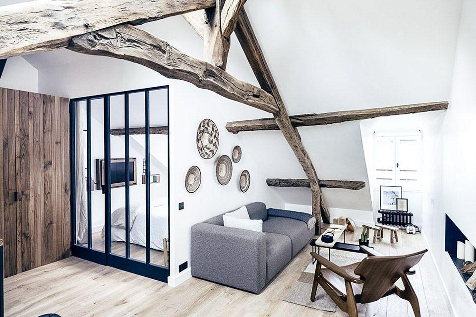 Fantastisch Interieur Mit Holz Lamellen Haus Design Bilder Bilder ...