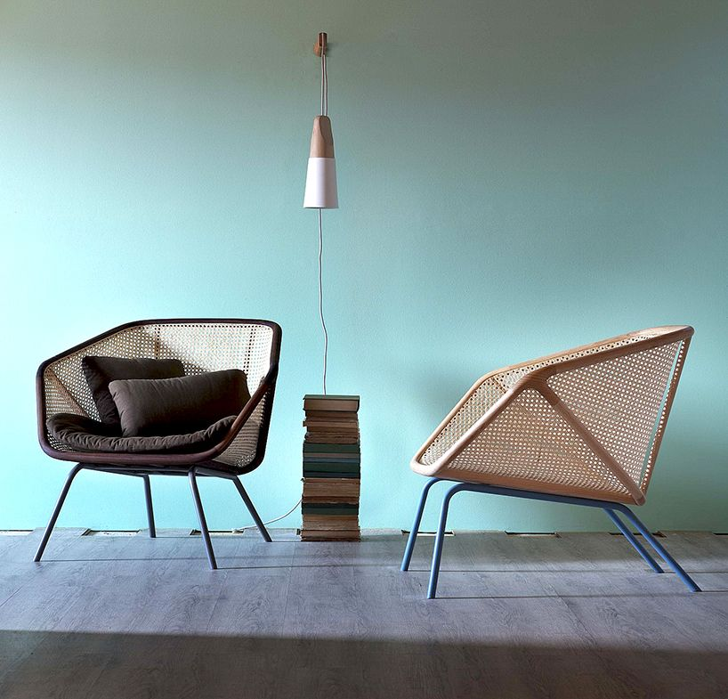skrivo balances tradition with colony armchair for miniforms ...