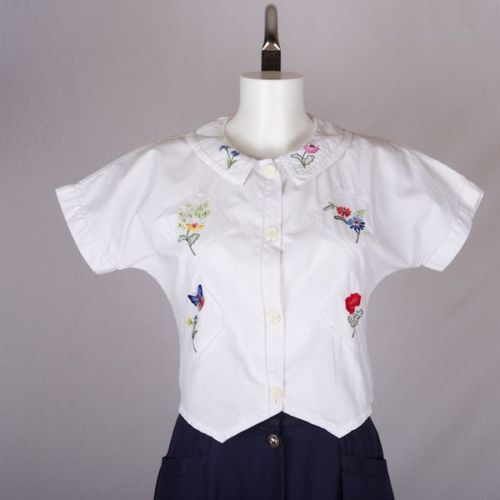 cute embroidered shirt!