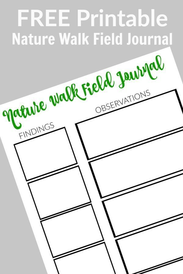 earth day nature walk with free printable field journal earth day nature and free printable. Black Bedroom Furniture Sets. Home Design Ideas