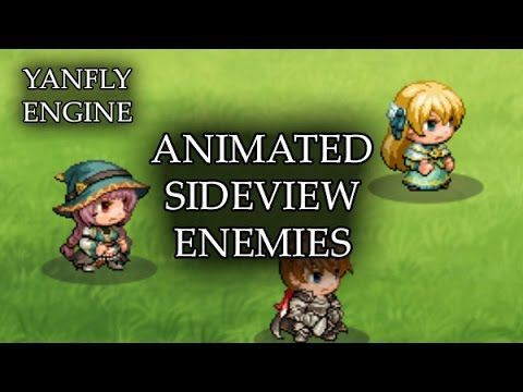 Battle Engine Core >> Animated Sideview Enemies Released: 2015 12 13