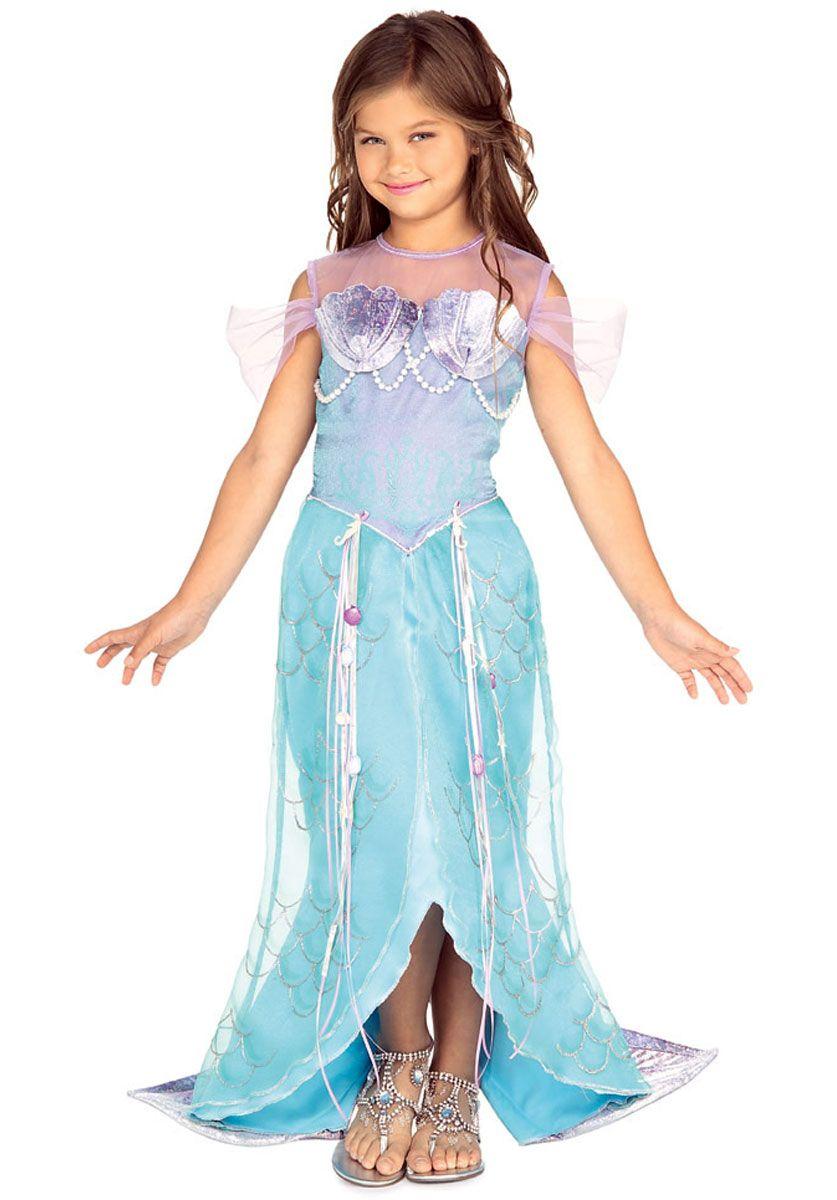 Meerjungfrau Prinzessin Kostüm, Kinder | Prinzessin kostüm kind ...