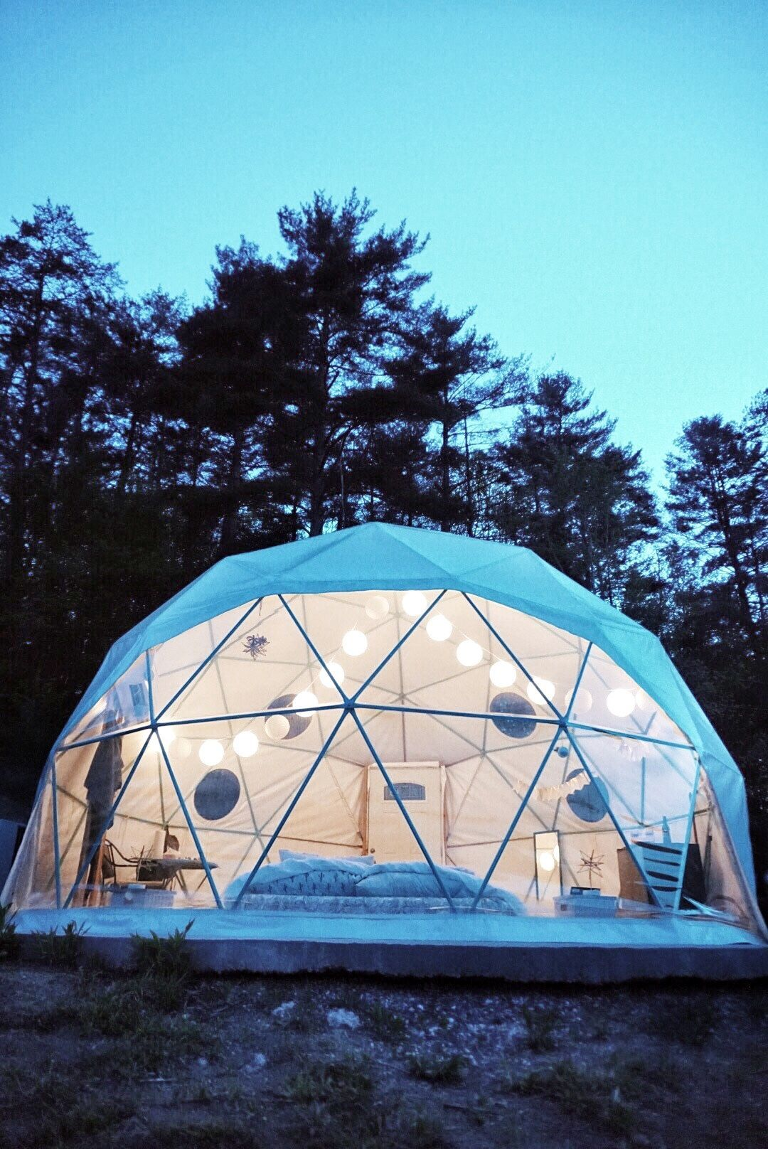 Dome Glamping  Asheville, NC  What to do in Asheville