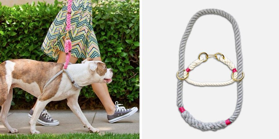 Modern Handmade Rope Collars and Leashes by Lasso Dog