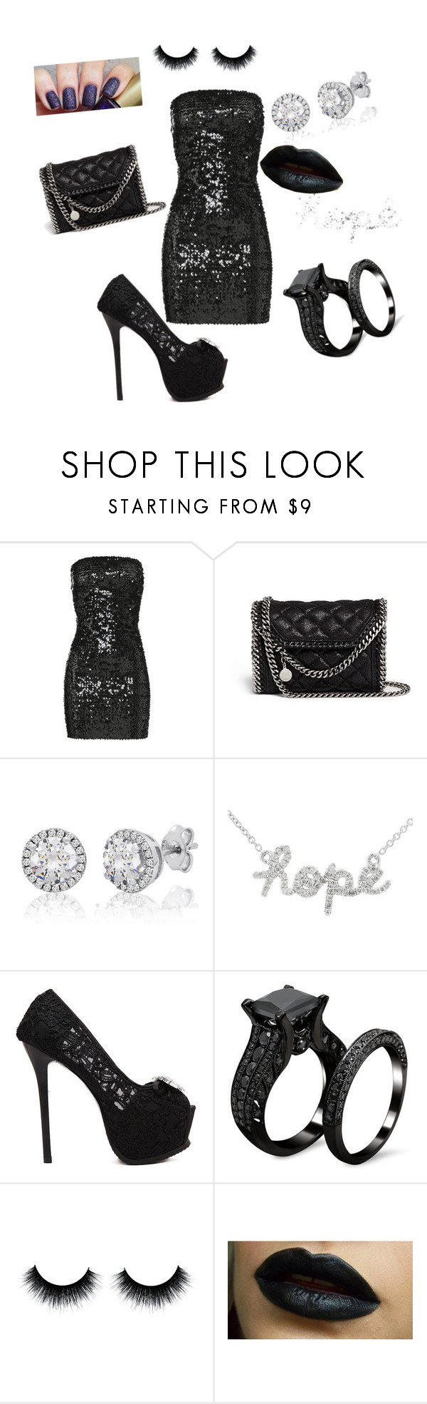 """""""Untitled #193"""" by aminamuratovic3 ❤ liked on Polyvore featuring Faith Connexion, STELLA McCARTNEY, women's clothing, women, female, woman, misses and juniors"""