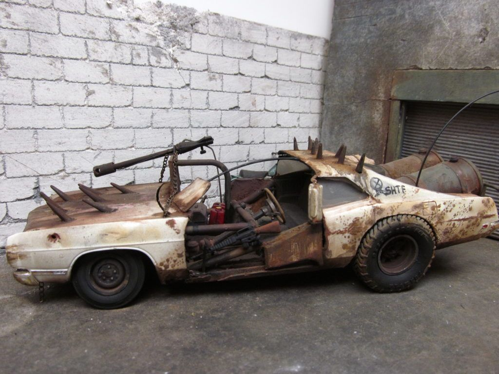 Mad Max Ford galaxie, Car model, Galaxie