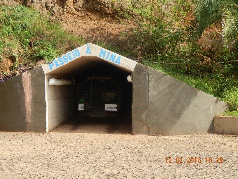 Entrada para o passeio na mina em Ametista Parque Museu!!!