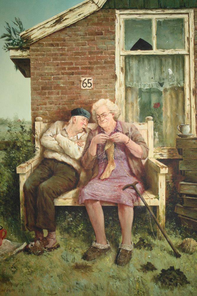 старинные шутливые открытки с пожилыми дамами можно