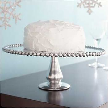 Simple Elegant Beaded Cake Stand Things To Get Pinterest