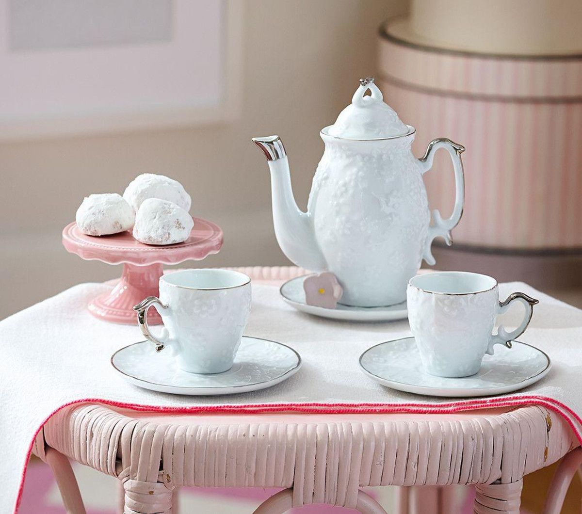 A Tea Set With The Look Of Family Heirloom Sized Just For Kids