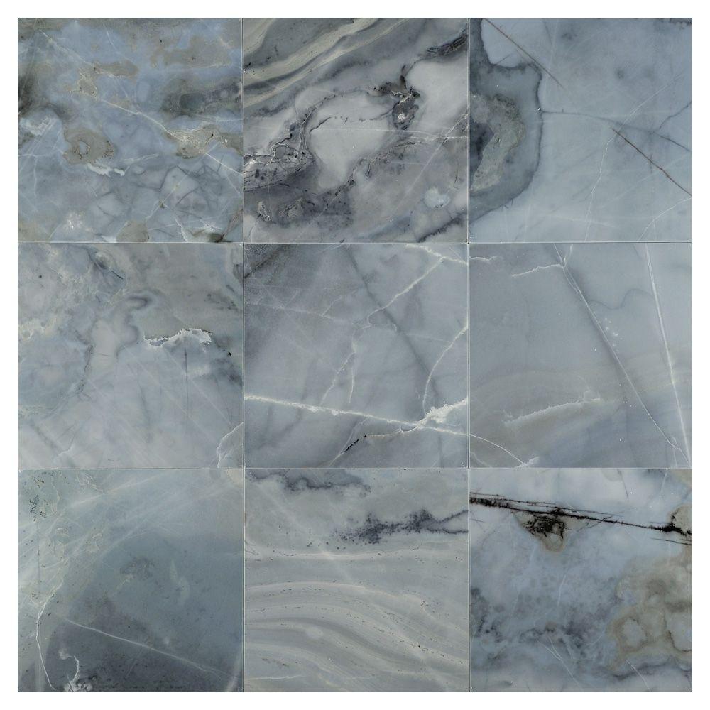 Complete Tile Collection Natural Stone Marble Tile Blue Dreams Polished Mi 111 Mp 110 154 Single Tile 12 X 12 Marble Tile Polished Marble Tiles Marble