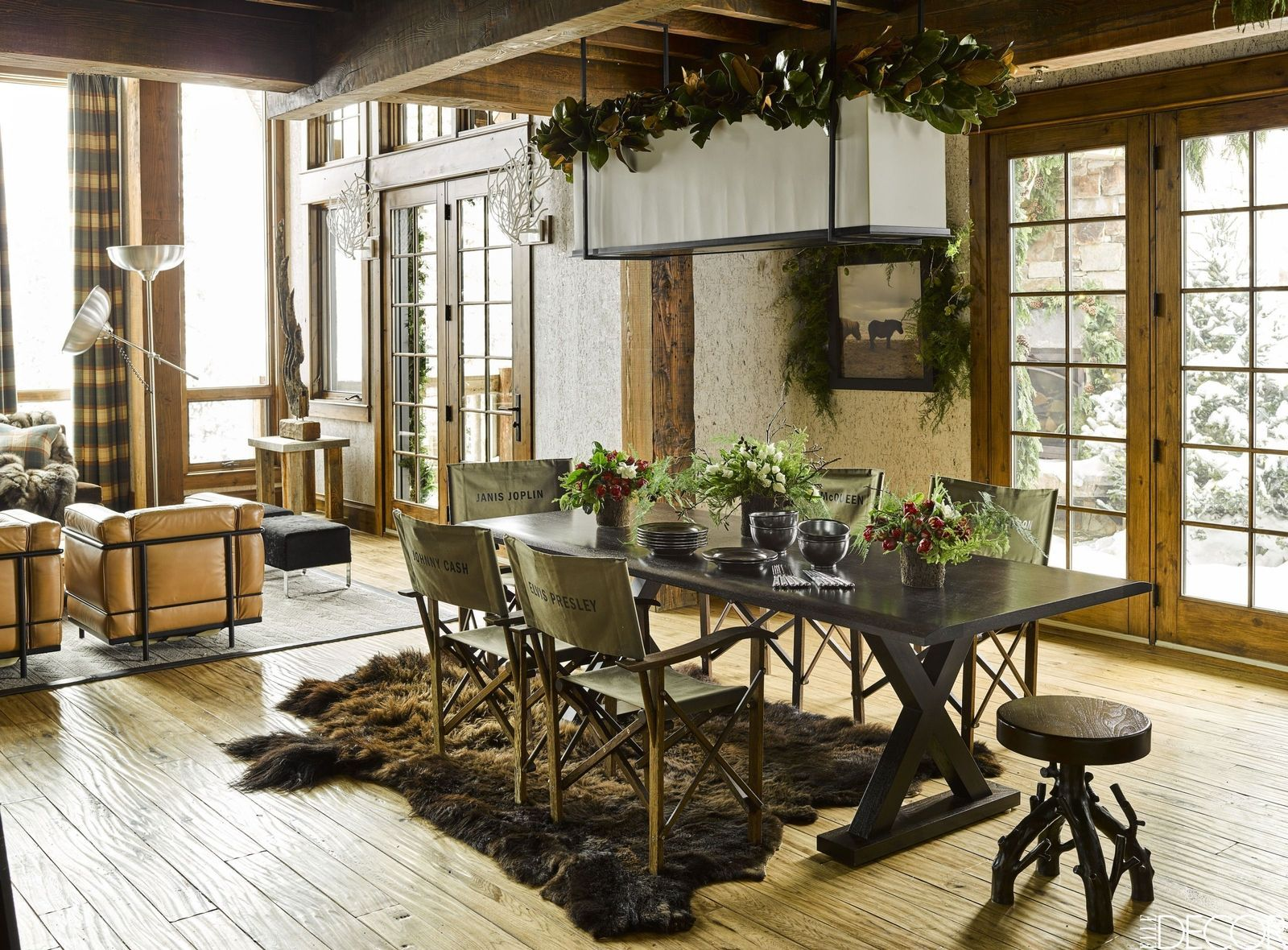 These Rustic Dining Rooms Are The Definition Of Country Chic