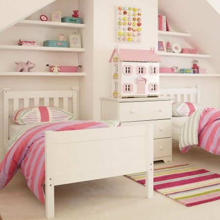 Nantucket Bunk Bed As Two Single Beds 395 00 Aspace White Bunk