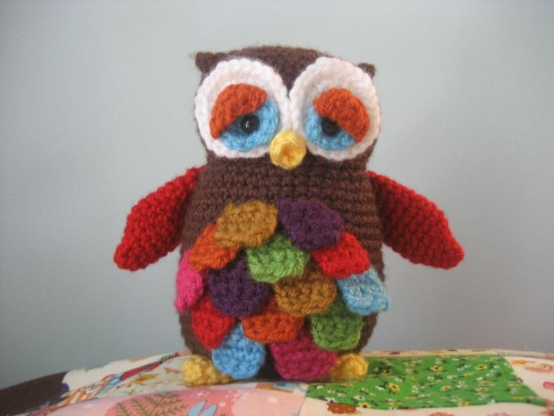Amigurumi Pattern Free Owl : Mr hoot amigurumi owl pattern crochet owls owl