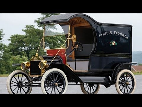 1912 Ford Model T Pie Wagon For Sale Ford Models Vintage Pickup