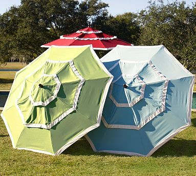 Three Tiered Umbrella For Picnic Tables Or Free Standing