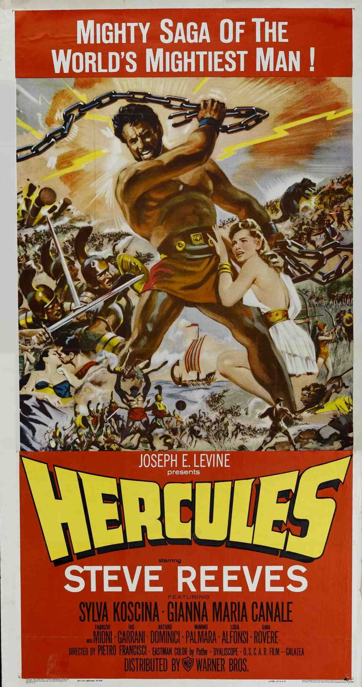 Hercules 1958 Is A Cinema Trash Classic With Steve Reeves As The