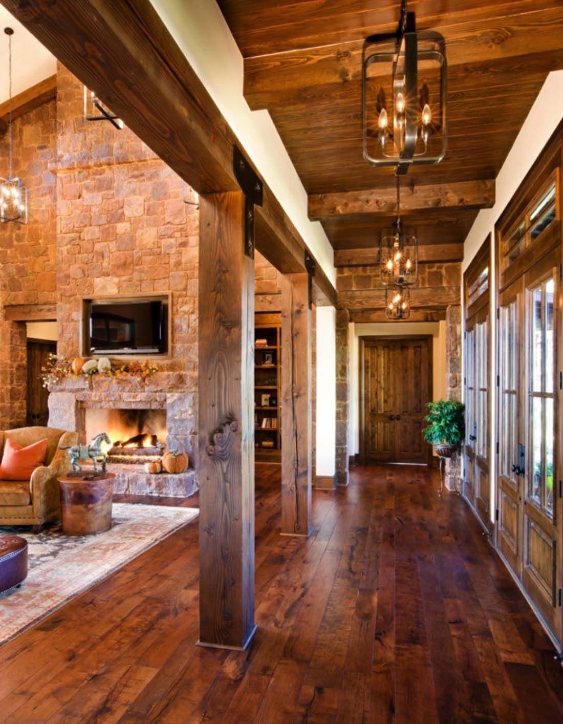 Rustic Texas hill country home blends with old world elegance  Rustic Texas hill country home blends with old world elegance