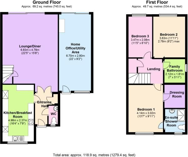 Perfect Floorplan Home Office Could Be A Granny Annex