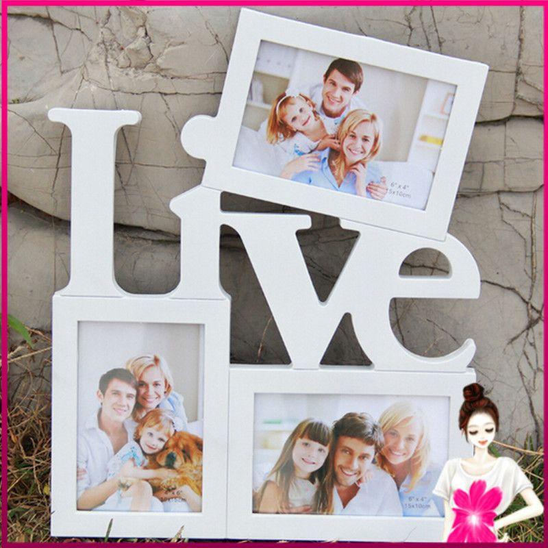 Encontrar Más Marcos Información acerca de Amor y vivir elija un ...