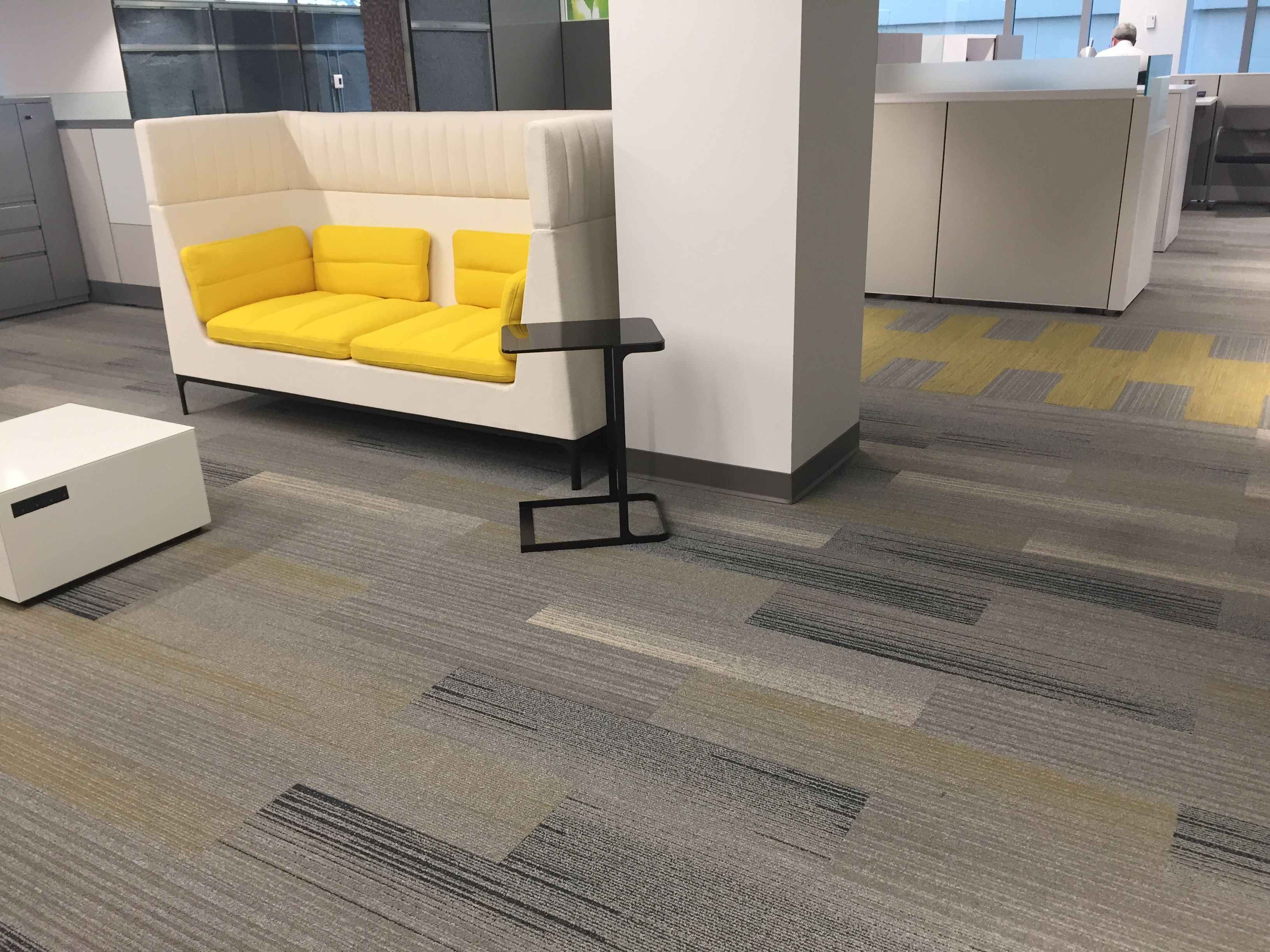 American Interiors Cleveland Showroom Interface Carpet