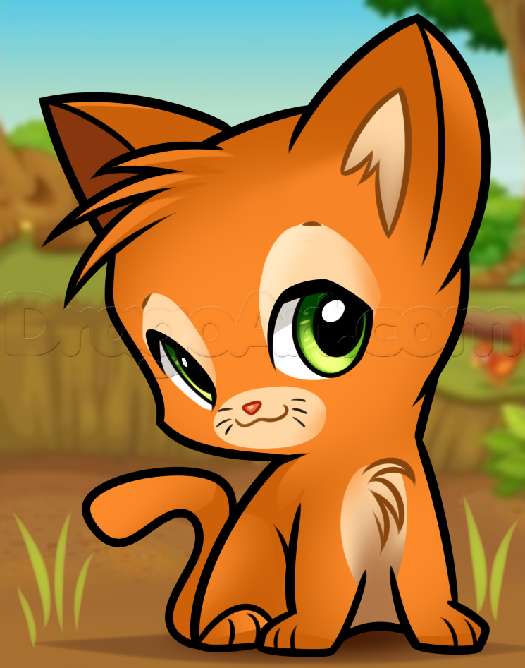 How To Draw Chibi Firestar By Dawn With Images Warrior Cat