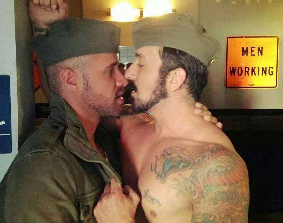 At work men kiss men 15 Types
