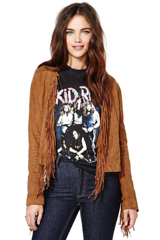 Dolce Vita Mandisa Leather Jacket