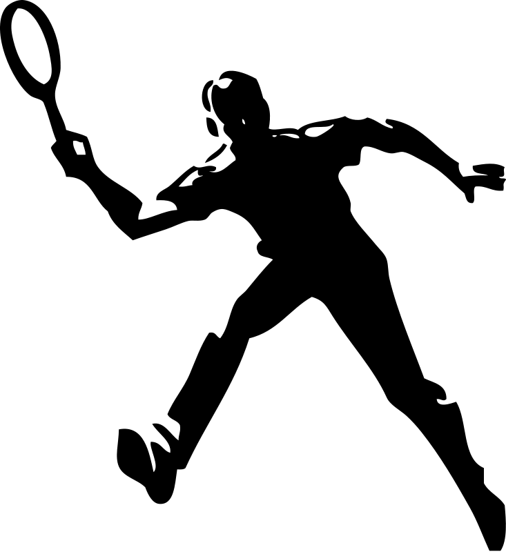 Tennis Clipart Royalty Free Sports Images Sports Clipart Org Sports Images Step Workout Free Sport
