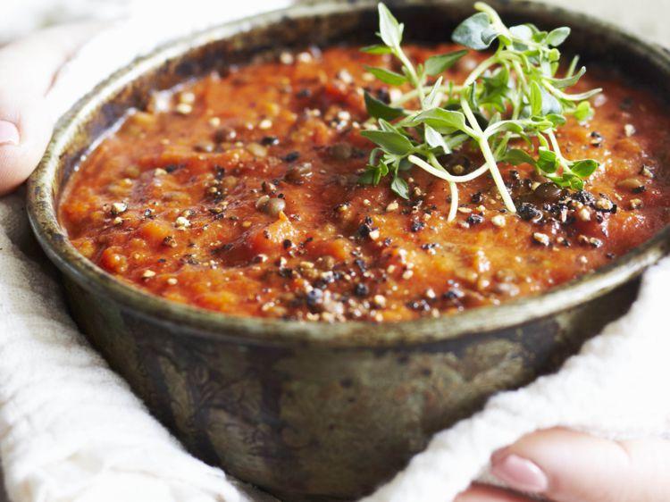 Recette lentille tomate