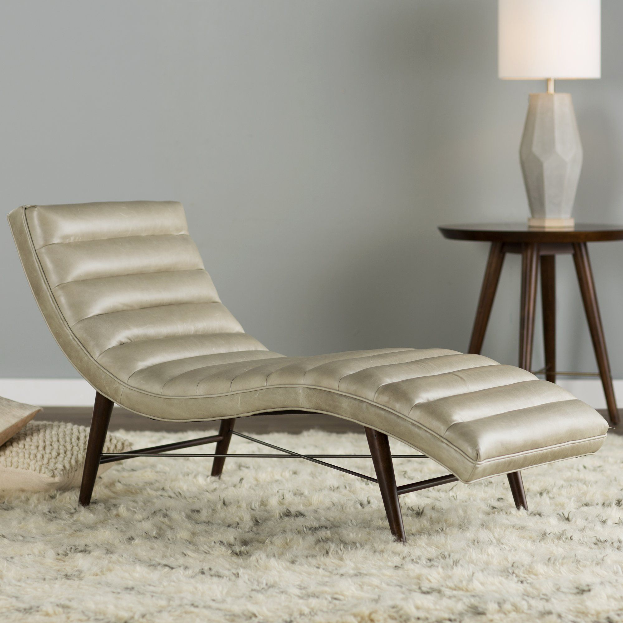 Cushendall leather chaise lounge leather chaise lounge